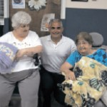 Nesconset Adult Day Health Services donated blankets