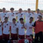 The Smithtown East High School boys soccer team raised money during each game during their fall season