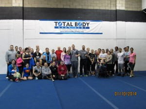 Total Body Boot Camp does a fundraiser for Angela's House