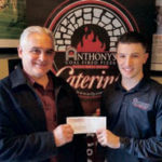 Anthony's Coal Fired Pizza   in Bohemia ran a fundraiser   for Angela's House