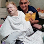 Our dear friend Joanie, who fundraised at her nursing home