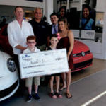 Atlantic Volkswagen hosted a month-long fundraiser for Angela's House