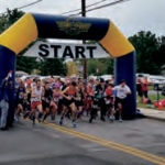 Runners participated in the Smithtown Running of the Bull