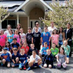 Students from Forest Brook School in Hauppauge donate time at Angela's House