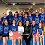 Gold Metal Gymnastics in Centereach hosted a fundraiser on National Gymnastics Day