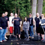 Members of Kohls Associates in Action helped beautify one of our homes